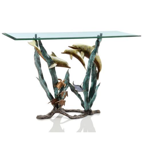 Dolphin Seaworld Console Table