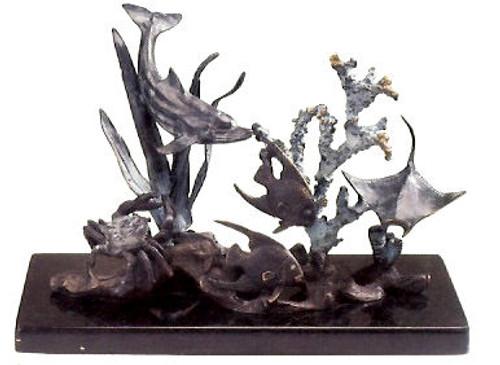 """Sea World 'Snap Shot"""" Sculpture"""