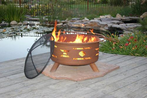"Patina ""Santa Fe"" Outdoor Fire Pit"