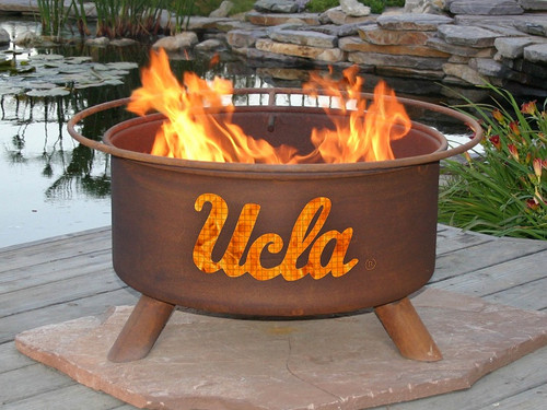 Patina UCLA Bruins Collegiate Portable Outdoor Fire Pit