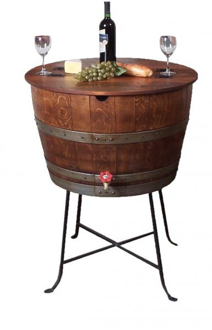 Bistro Wine Barrel Cooler