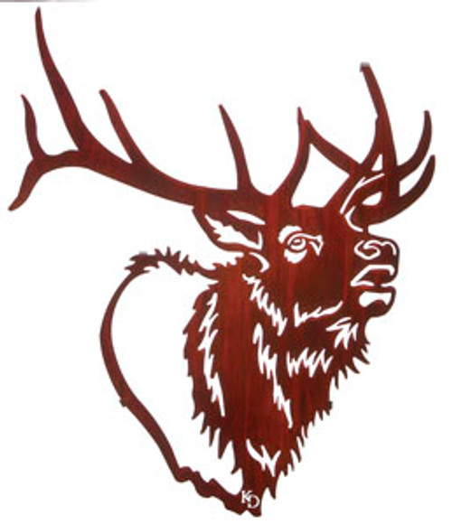 Lazart Bugle Boy Elk Head
