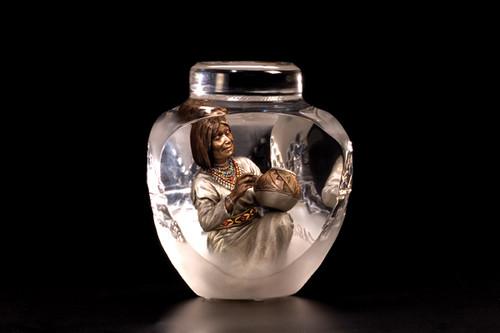 "Starlite Originals ""Hands Of Time"" Female Sculpture"