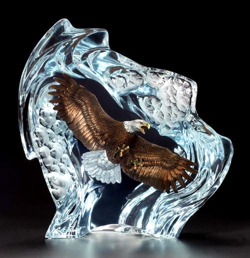 "Starlite Originals ""Strength And Honor"" Eagle Sculpture"
