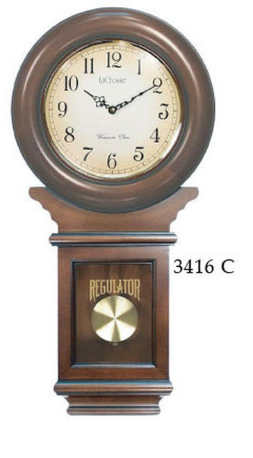 Schoolhouse Chiming Regulator Clock