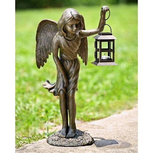 Angel Girl Garden Lantern