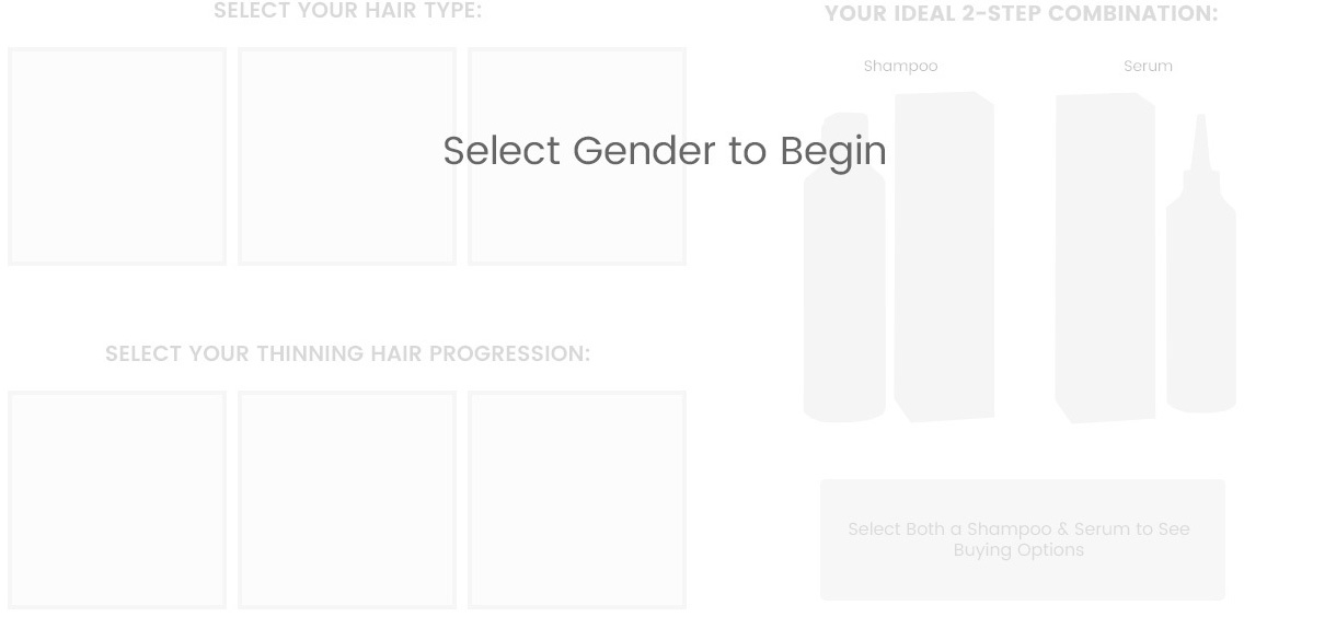 Select a Gender to Begin
