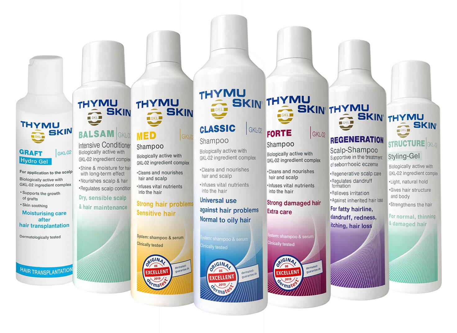 Thinning Hair? Thymuskin®.