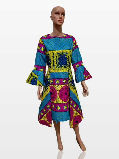 Ntoma African Print dress | Short Dress For Women | Perfect Gift For Any Woman