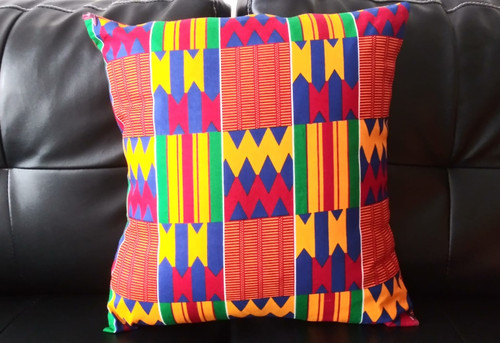 kente - African print Pillow case | African Design Pillow Case | Soft Comfortable Pillow Case