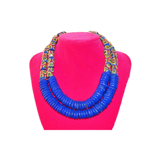 Glam up your outfit with this fabulous and unique Beaded Necklace. They are made from long lasting material. For your Necklaces, Earrings, Watches, Fans and other accessories, look no further than Street Market Africa
