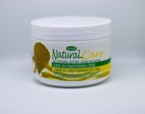 MVP NATURAL CARE ALL NATURAL BUTTER LEAVE-IN CONDITIONING CRÈME, 8oz