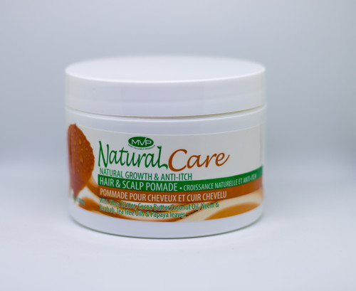MVP NATURAL CARE NATURAL GROWTH & ANTI-ITCH HAIR AND SCALP POMADE
