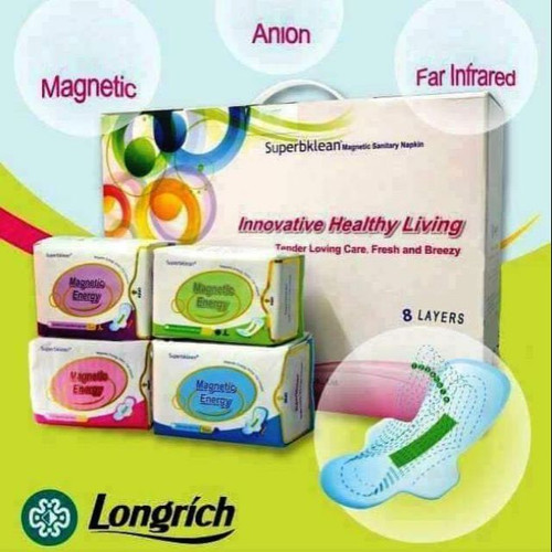 Superbklean Magnetic Sanitary Pad