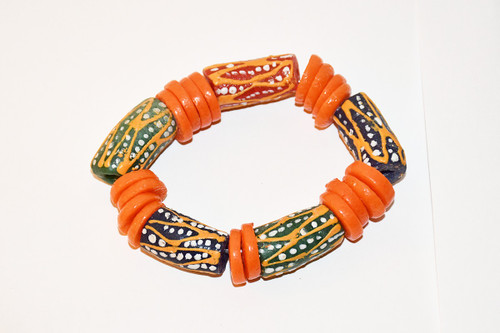 Toma - Bracelet | Hand Made Beads | African Beads Bracelet | Perfect Gift For Love