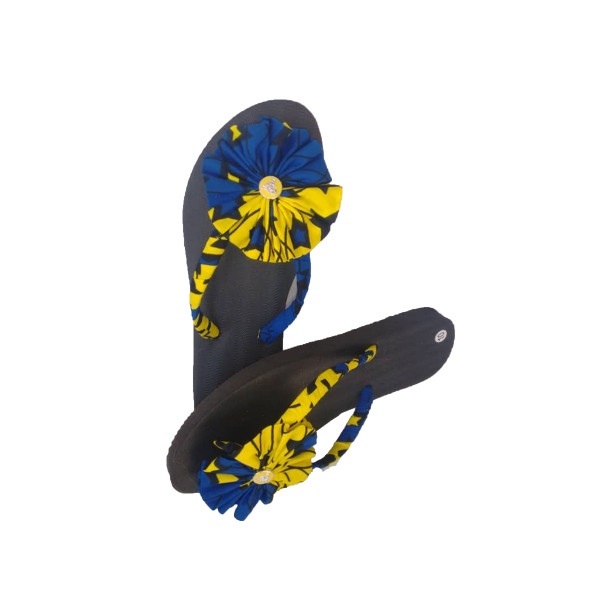 These Slippers are designed to bring a unique aesthetic value and class to its customers. The sole is made of Rubber which gives comfort to the customers when wearing. It also has a distinctive wax print design to add more beauty to the slippers which make you stand out.