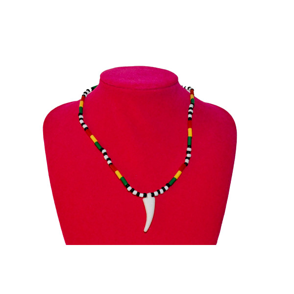 Looking for an awe inspiring look in any occasion? Glam up your outfit with this fabulous and unique Necklace. They are all made from long lasting beaded material.