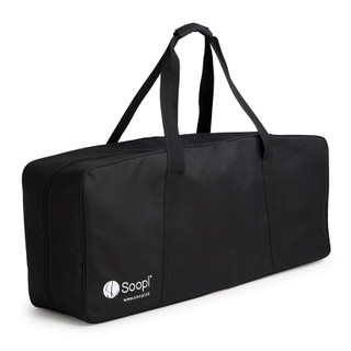 The Bag for the Soopl Fashion Trolley is specially designed for more comfort and protection while carrying the Soopl Fashion Trolley. Easy to take on a plain or car. Qualities • Waterproof • Durable Cordura material • Including handles • Carefully designed to fit the Soopl Fashion Trolley