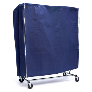 Blue Plasti-Canvas Collapsible Rack Cover