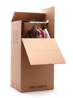 """Hanging Wardrobe Box (24""""x 20""""x"""" x 46"""")"""