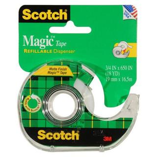 Scotch Tape and Dispenser