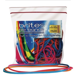 """Colored Rubber Bands (Brites) - 7"""""""