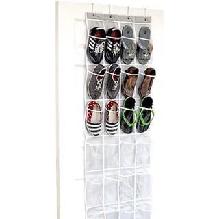 Door Hanging Shoe File (24 Pockets)