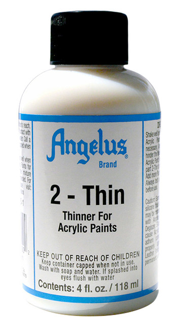 Angelus 2-Thin - Thinner for Acrylic Paints.
