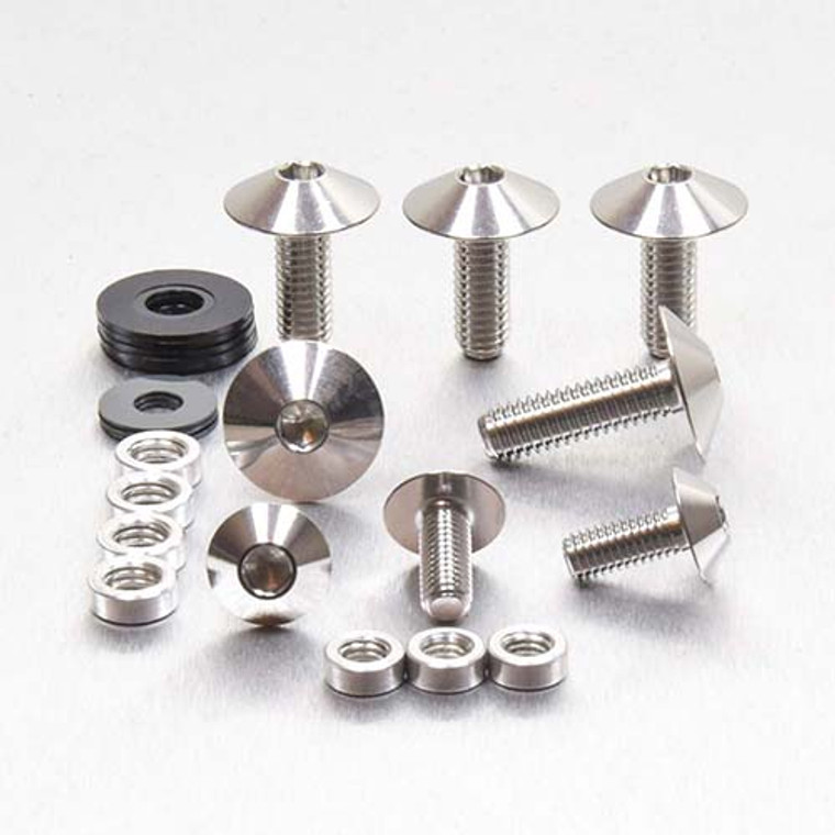 Stainless Steel Fender & Hugger Bolt Kit (MUDHUG105SS)