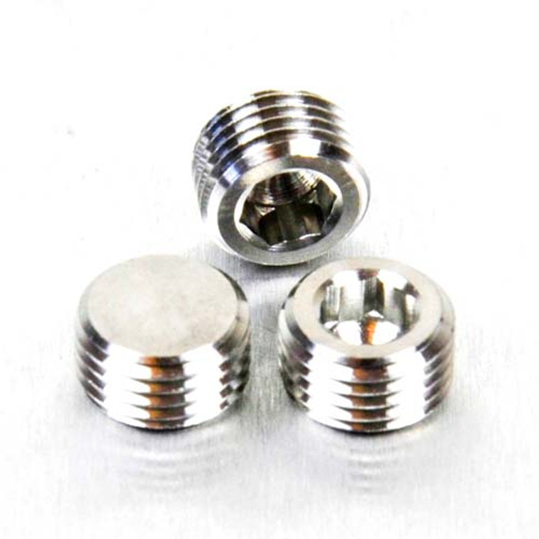 Stainless Steel Brake Caliper Grub Screw A/Key Drive Pack x3 (SSPINGRUB-3)