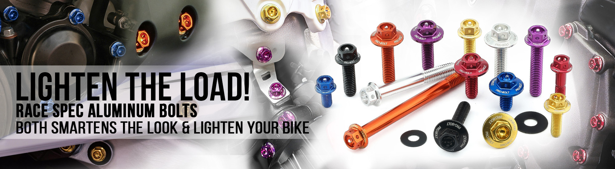 Professional Motorcycle Bolts And Fasteners Pro Bolt Usa