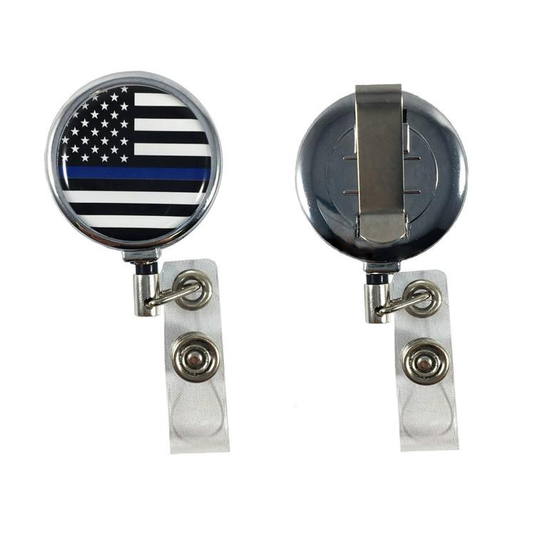 Thin Blue Line Badge Reel