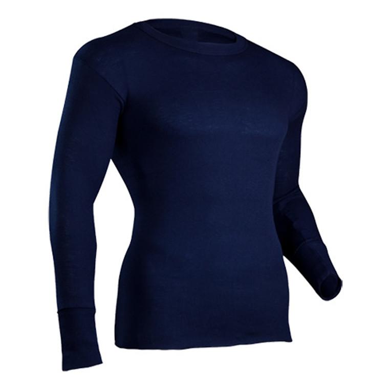Indera Mills Men's 100% Polypropylene Performance Shirt - Navy