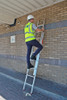 Lyte EN131-2 Non-Professional 2 Section DIY Extension Ladder