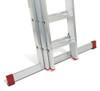 Lyte EN131-2 Non-Professional 3 Section DIY Extension Ladder
