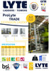 LytePro EN131-2 Professional Trade 2 Section Extension Ladder - Made in the UK