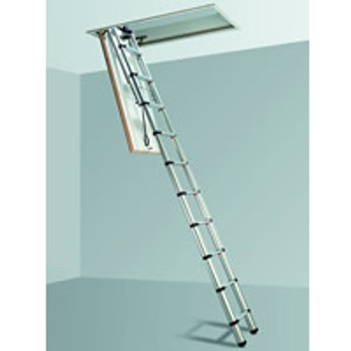 Telesteps Black Line Adjustable Telescopic Loft Ladder