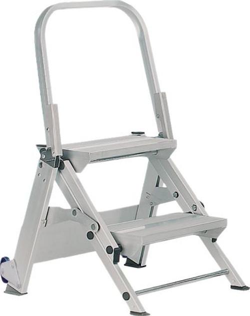 GPC EN-14183 Aluminium Folding Leader Easy Slope Steps