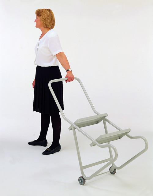 Wheelalong Steps - 2 Tread with Anti-Slip Tread