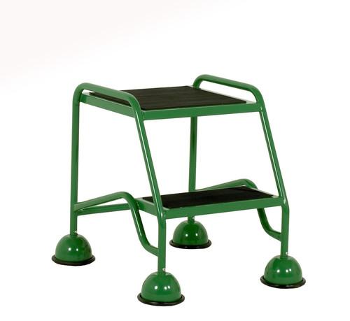 Dome Castor Feet - 2 Tread with Anti-Slip Tread (No handrail)