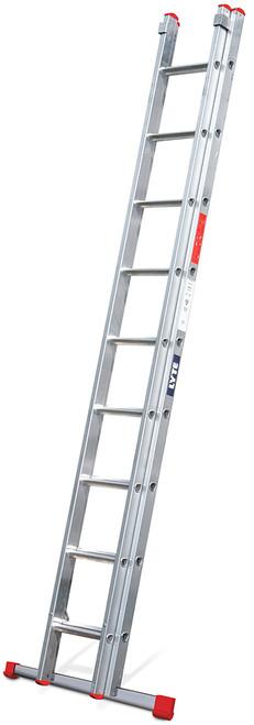 Lyte EN131-2 Non-Professional 2 Section DIY Extension Ladder