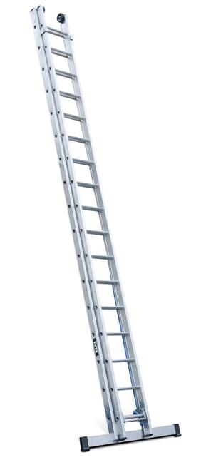 Lyte EN131-2 Professional 2 Section Heavy Duty Extension Ladder
