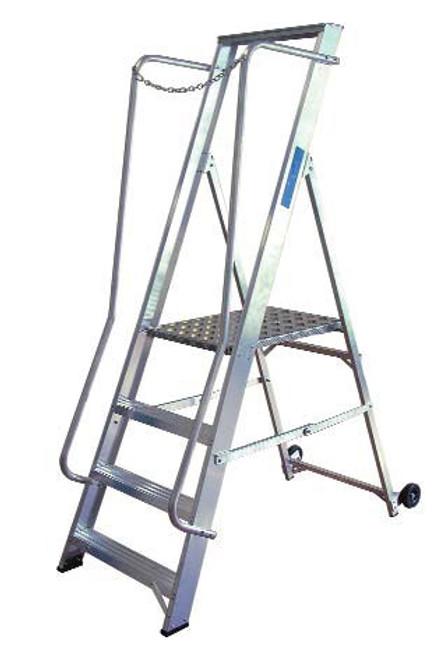 Lyte EN131-2 Aluminium Professional Widestep Ladder