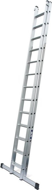 Lyte NGD EN131-2 Professional 2 Section Extension Ladder