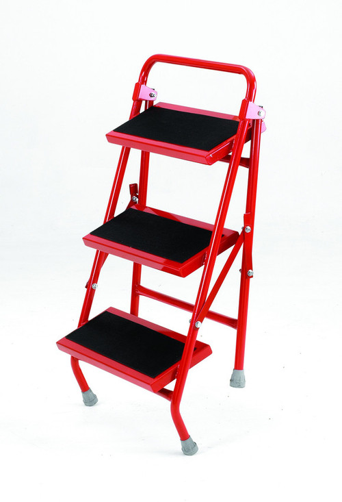 An image of Folding Portable Steps - 3 Tread