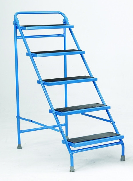 An image of Folding Portable Steps - 5 Tread