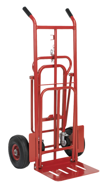 An image of 3 in 1 Pneumatic Wheel Sack Truck - 250kg Capacity