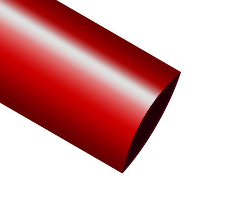 """ICO-Rally HIX-3/4"""" Red Heat Shrink Tubing - Sold by 4' Stick"""