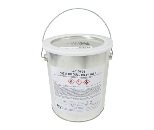 APV® Engineered Coatings G-8130-01 Walkway™ FS 36231 Gray A-A-59166A Type 2/MIL-W-5044C Spec Non-Slip Wing Walk Compound - Gallon Can