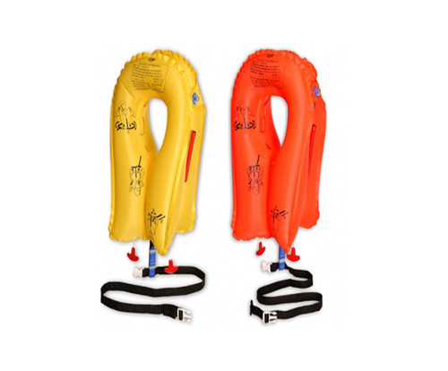EAM Worldwide P01074-101 Yellow XF-35 Twin-Cell Life Vest